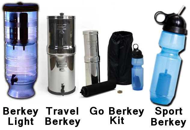 berkey filter kits