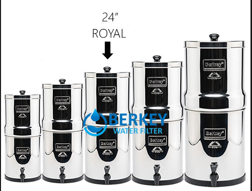 royal berkey size